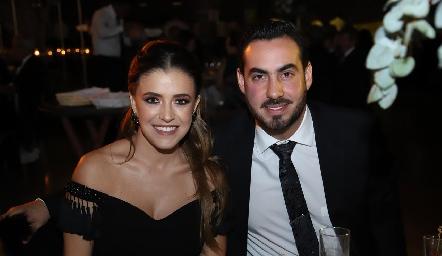 María José Hernández y Gerardo Chevaile.