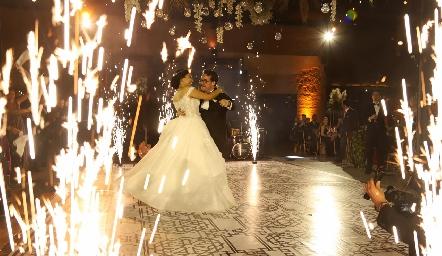Andrea González y Alberto Lozano ya son esposos.