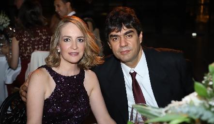 Claudia y Luis Fernando Torres.