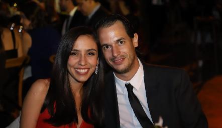 Lorena Lozano y Javier Palomar.