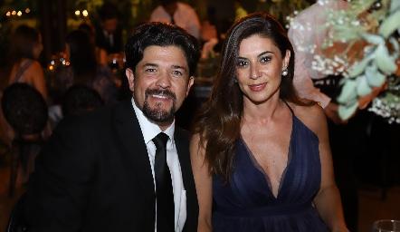 Marcelo Lozano y Karina Hernández.