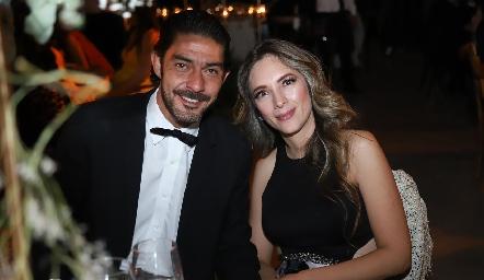 Javier y Estefanía.