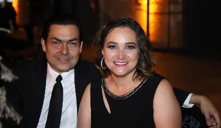 Nicolás y Marcela Humara.
