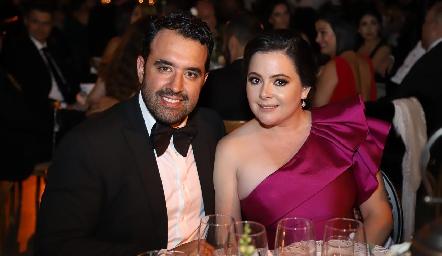 Mauricio Romo y Susana Lozano.