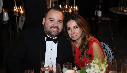 Adrián Gamera y Ana Leal.