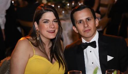 Adriana Verduzco y Marcelo González.