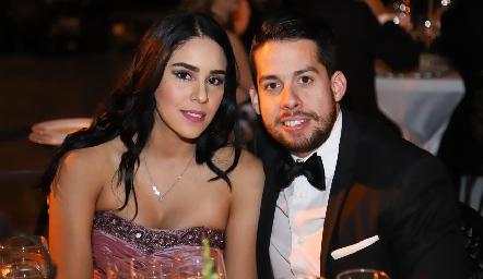 Martha Vargas y Alejandro Góngora.