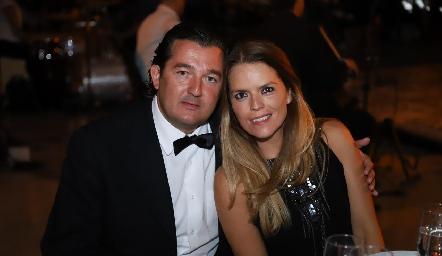 Mauricio Lozano y Ana Alvarado.