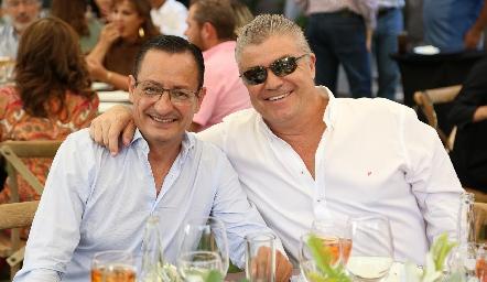 Alejandro Díaz de León y Roberto Lozano.