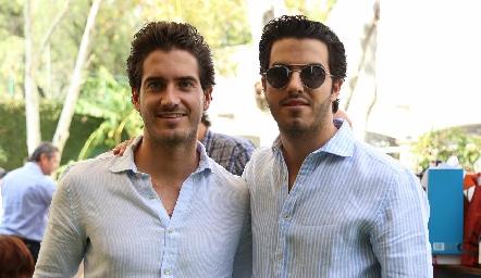 José Manuel y Ricardo Gómez.