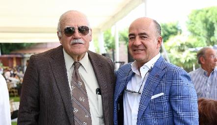Rafael y Rafael Olmos.