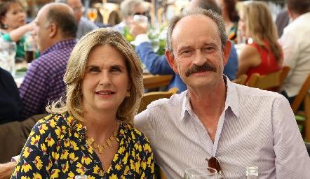 Carmen Zwiegger y Sergio Velasco.