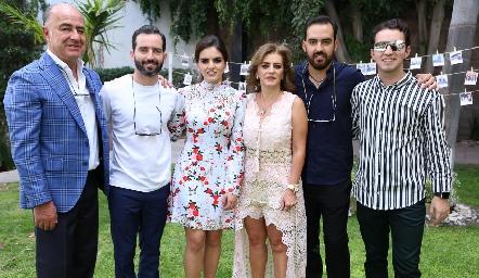 Familia Olmos Carrera.