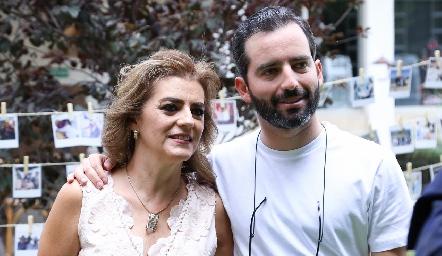 Adriana Carrera y Joaquín Olmos.