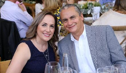 Lucía y Alejandro Sánchez.