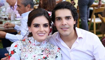 Adriana Olmos y Mauricio Tobías.