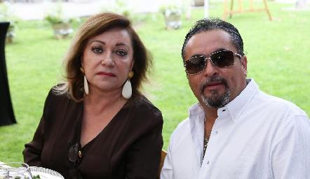 Maruca Falcón y Pablo Luna.