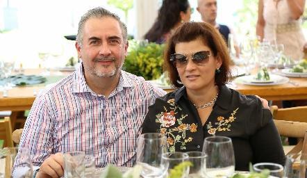 Jorge Mauricio e Isabel Guzmán.