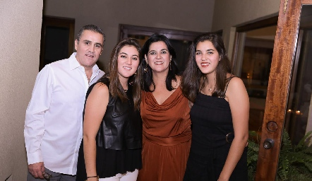 Familia Gómez Sánchez.