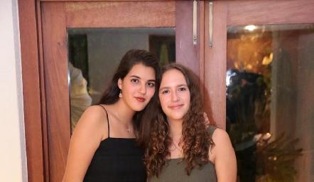 Natalia Gómez y María Martín Alba.