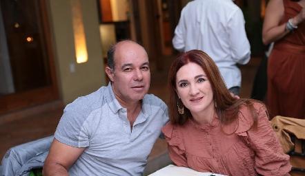 Enrique Quintero y Anita Anaya.