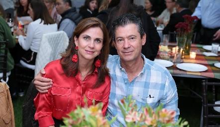 Rocío Nieto y Antonio Mendizábal.