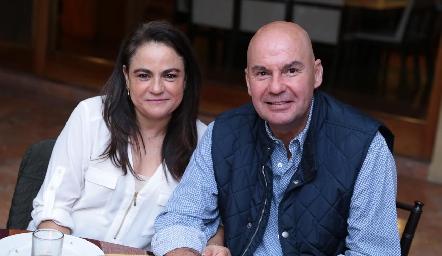 Coco Leos y Enrique Portillo.