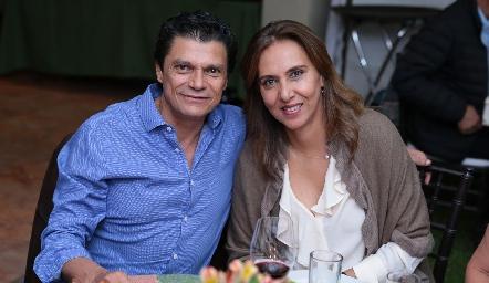 Fernando Cifuentes y Mercedes Castro.