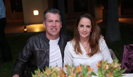 Alfonso Anaya y Montse Fonte de Anaya.