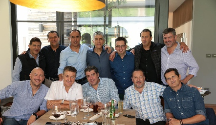 José Luis Contreras, Samuel Villarreal, Fernando López, Sergio Godínez, Toño Fonte, Rodolfo Oliva, Óscar Zermeño, Roberto García, Carlos de Alba, Daniel De Luna, Ramón Muñoz y Jaime Fonte.