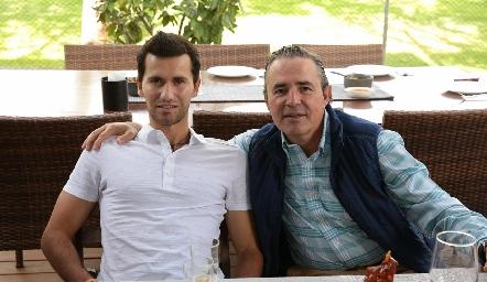 Salim Abud y Gerardo Valle.
