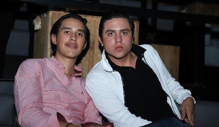 Marcelo Rodríguez y Andrés Zepeda.