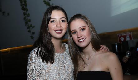 Isa Villanueva y Nuria Manzo.
