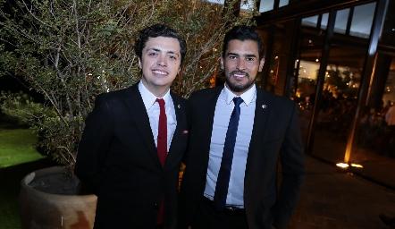 Aldo Martínez y Tirso González.