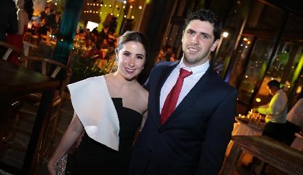 Arantza Cárdenas y Guillermo Rivera.