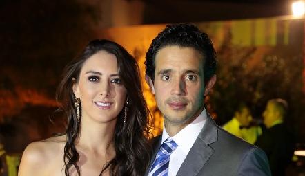 Cata Abud y Roberto Mejía.