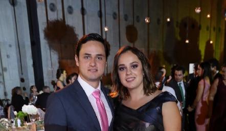 Victoriano y Alejandra Martínez Treviño.