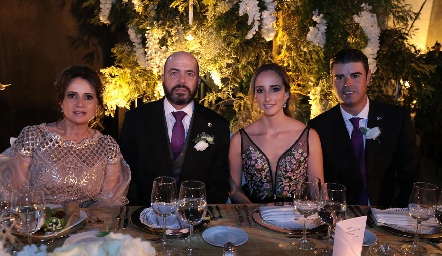 Familia Mahbub Martínez.