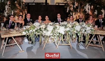 Familias Zepeda Rojas, Mahbub Zepeda y Mahbub Martínez.