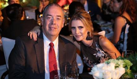 Ignacio y Patricia Ramírez.
