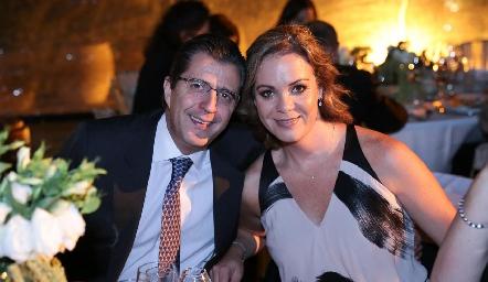 Jorge González y Claudia Díez.