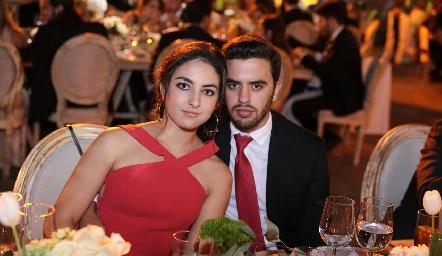 Ana Martha Ocaña y Diego Zepeda.