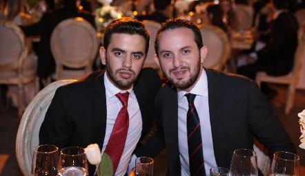 Diego y Eduardo Zepeda.