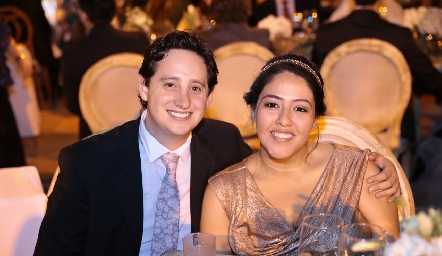 Daniel Zepeda y Daniela Santoyo.