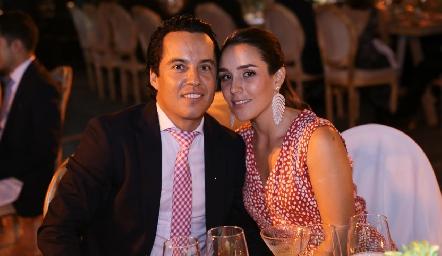 Luis de la Rosa y Ximena Castillo.