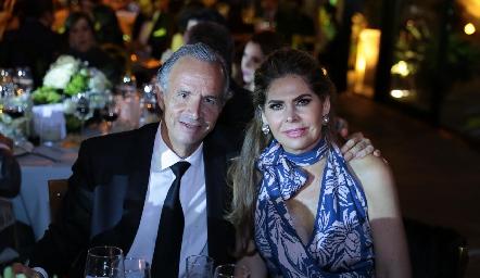 Francisco y Martha de la Rosa.