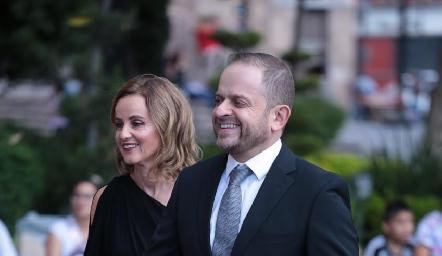 Romina Madrazo y Saad Sarquis.