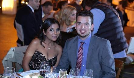 María Reyna Sierra y Rodrigo Loustaunau.