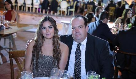Tania Leal y Pedro Díez Gutiérrez.