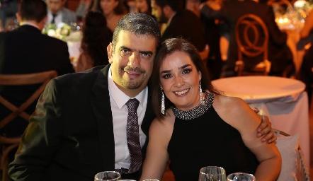 Javier Ramírez y Lizet Carrillo.